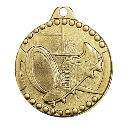 Médaille frappée Rugby