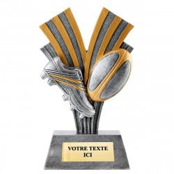 Trophée résine rugby 22 CM