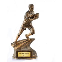 Trophée résine rugby réf.RS0163