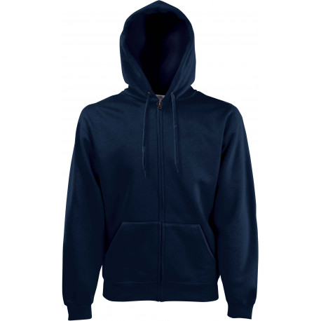 SWEAT CAPUCHE ZIPPE ADULTE